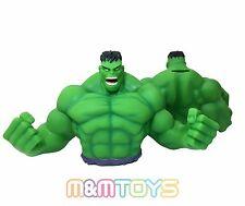 Marvel Superhero Incredible Hulk Bust Bank Piggy 3D Toy Figure Coin Bank
