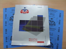 Starcke Matador Wet and Dry Paper. A Weight 1 Pk 10 sheets. Mix of P1500 & P2000