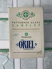 Pilkington Glass - Patterned Glass Samples - The Oriel Collection - 22 Tiles
