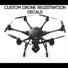 DRONE Decal Registration Number Letters Sticker RC Plane Helicopter Case FAA Car