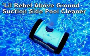 Pentair Lil Rebe Suction Side Above Ground In-Ground Swimming Pool Cleaner New