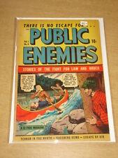 PUBLIC ENEMIES #5 VG- (3.5) DS PUBLISHING DECEMBER 1948