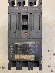 I-T-E Circuit Breaker E438060 60 amp 480 VAC 3 pole Used  (2.3)