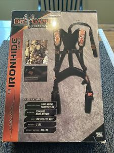 Big Game Harness Ironhide 300 pounds Treestands Hunting NEW SEALED