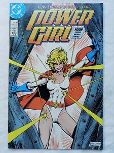 POWER GIRL #1 DC Comics 1988 First Series - High Grade
