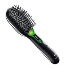 Braun BR710 Satin Iontec Frizz Fighting Battery Powered Hair Brush - Black