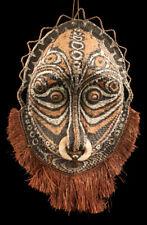 Gable mask from blackwater, tribal basketwork, oceanic art, papua new guinea