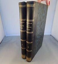 WALLON / JEANNE D'ARC / 1860 HACHETTE EO (COMPLET EN 2 VOL.)