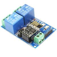 5V ESP8266 ESP-01 2 Channel WiFi Relay Module 2-Channel Relay Module For IOT