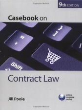 Casebook on Contract Law,Jill Poole- 9780199233526