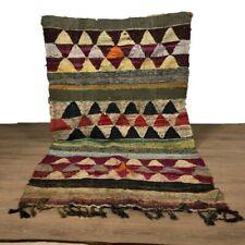 Beni ourain carpet vintage runner rug hallway rug Moroccan rug traditional rug