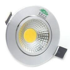 4x LED COB SPOT CEILING PLAFOND 3W ALUMINIUM SPOTJE INBOUW SPOTS WARM WIT 4 STUK