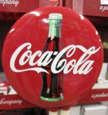 """Coca-Cola Bullseye Button Contour Disc Sign 16"""" - NEW"""