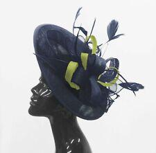ab5c56caca7e9 Caprilite Big Saucer Sinamay On Headband Fascinator Wedding Ladies Ascot Hat