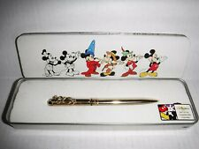 Vintage Disney Collectible Gold Pen in Original Box (Never Used)