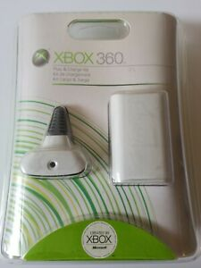 BRAND NEW Microsoft XBOX 360 Play and Charge Kit -Factory Sealed.