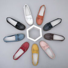 Womens Bowtie Slip on Loafers Gomminos Comfort Shoes Casual Spring Pumps Creeper