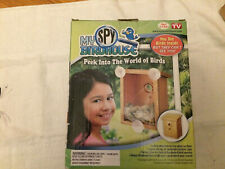 My Spy Birdhouse As Seen on Tv See Birds Nest But They Can't See You (New)
