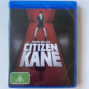 Citizen Kane - Orson Welles (Blu-ray) Australia Region B- NEW & SEALED