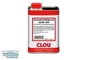 Clou 300   Schnellschliffgrund   Clou300   1 Liter   Clou   Grundierung