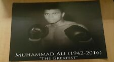 Mohammed Ali Poster (1 of a kind reproduction)