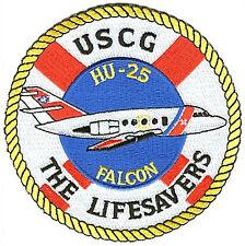 HU-25 Falcon Lifesavers W4703 USCG Coast Guard patch