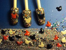 glitter mix nail art acrylic gel    MOUSE PARTY