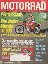 Motorrad 25 78 Ducati 900 SS XL 500 Puch Frigerio 250 GS Solo 713 C XS 1100 1978