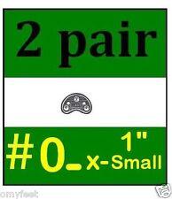 "2p Guard Shoe Boots Heel Toe Plates Taps Nylon Shoe Sole Protection #0 1"" XSmall"