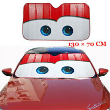 1x Red Foldable Car Windshield Visor Cover Front Window Sun Shade Accessories