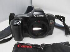CANON EOS REBEL SLR CAMERA BLACK AUTOFOCUS LIGHT & COMPACT - BODY ONLY
