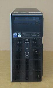 HP Compaq dc5800 PC C2D E4800 3GHz 2GB Ram Win XP Pro / Svr Web 2003 COA