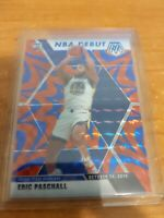 2019-20 PANINI-MOSAIC  ERIC PASCHALL NBA DEBUT BLUE REACTIVE PRIZM RC WARRIORS
