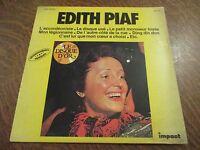 33 tours EDITH PIAF le disque d'or enregistrements originaux l'accordeoniste