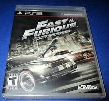 Fast & Furious: Showdown Sony PlayStation 3 *Factory Sealed! *Free Shipping!