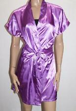 Shorts Stories NEW Womens Purple Baby Doll Robe Size 10-S BNWT