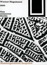 Das steinerne Berlin (Bauwelt Fundamente) (German Edition) by Werner Hegemann