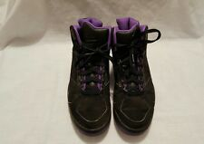 2008 Nike Air Flight Lite High 329984-001 Black & Purple Size US 9 UK 8