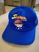 Original AYRTON SENNA Cap Hat F1 Formula 1 Senninha Foundation NOS Ferrari Team
