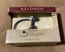 Baldwin Tissue Holder~Prestige Series~Champlain Bronze Wall Mount~NIP
