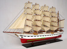 """FRANCE II Museum Quality Tall Ship Model 38"""" Handcrafted Wooden Model NEW"""