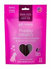 Get Naked Grain Free Puppy Health Dental Chew Sticks for Dogs Small 6.2oz