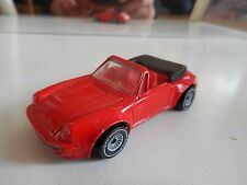 Siku Porsche 911 Cabriolet in Red + Red Interior