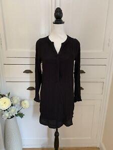 Mango Black Shift Dress With Under Dress BNWT (Size XS) (P1)