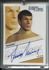 New ListingQuotable Star Trek Original Series Tos Autograph Qa2 - Leonard Nimoy Fascinating