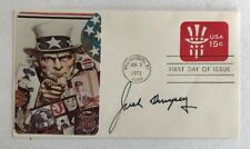 Jack Dempsey Signed Autographed 1978 USA First Day Cover SGC