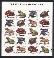 3814-3818 Reptiles & Amphibians Mint Superb-Nh Sheet