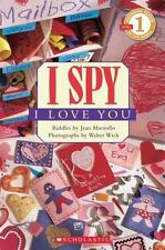 Kids fun paperback: I Spy I Love You-level one reader-gr k-1-look for cool picts