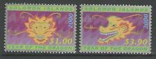SOLOMON ISLANDS SG966/7 2000 CHINESE NEW YEAR MNH