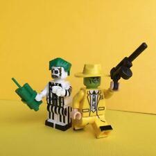 2 X Horror Movie Beetlejuice & The Mask Mini Figure Toy Rare